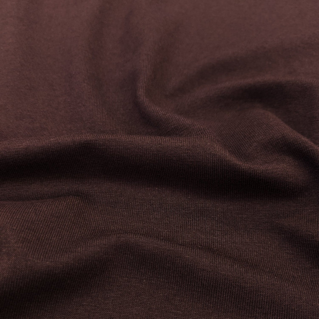 Cotton Modal Jersey Knit (200 gsm), Wine