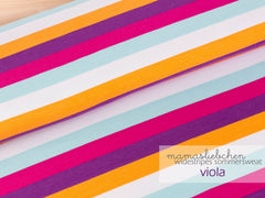 Mamasliebchen: Widestripes in Viola (SWEAT)