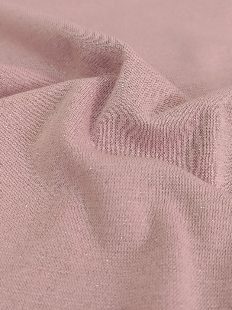 Swafing: Cuffing, Light Pink with Lurex