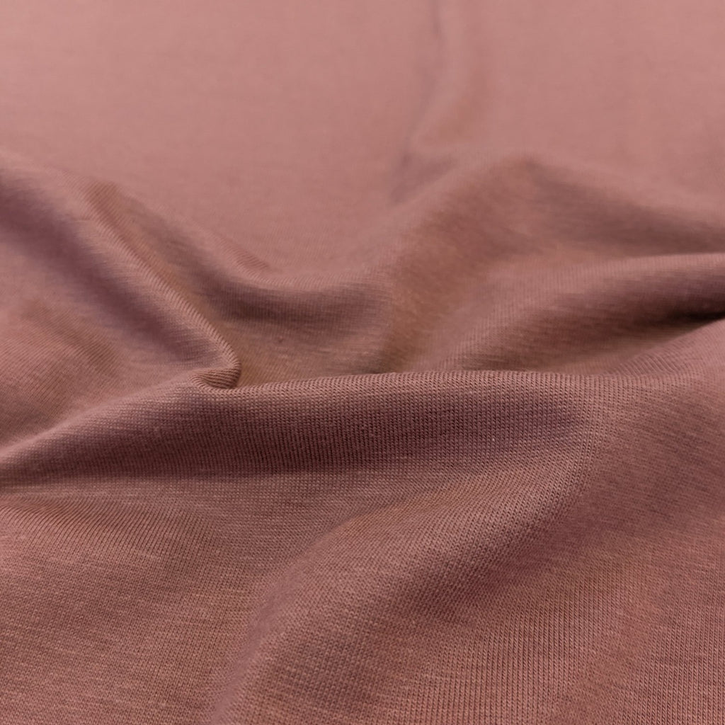 Cotton Modal Jersey Knit (200 gsm), Blush