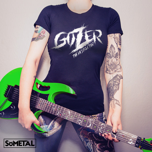 Gozer The Destructor - Girls Rocker Tee