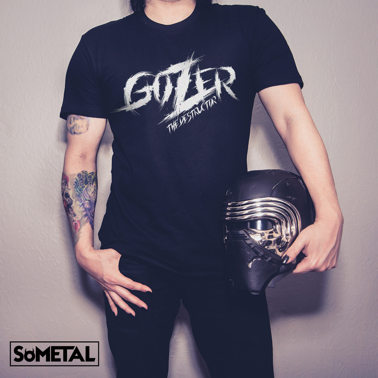 Gozer The Destructor - Guys Rocker Tee