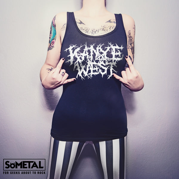 Kanye West - Girls Rocker Tank/Tee