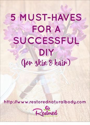 5 Must Haves for a Successful DIY