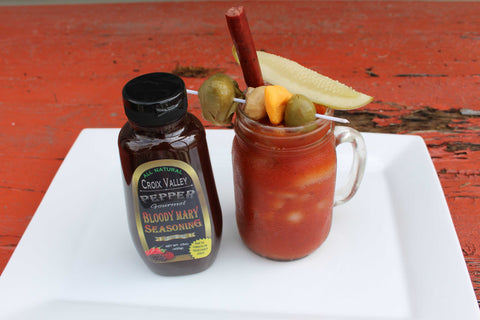 Croix Valley Bloody Mary Mix Pepper Flavor - Mark James Creative