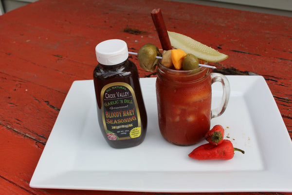 Croix Valley Bloody Mary Mix Garlic N Dill Flavor - Mark James Creative