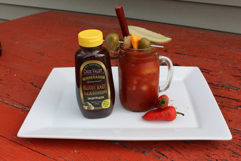 Croix Valley Bloody Mary Mix Horseradish - Mark James Creative
