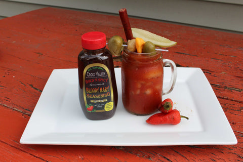 Croix Valley Bloody Mary Mix Bold N Spicy Flavor - Mark James Creative