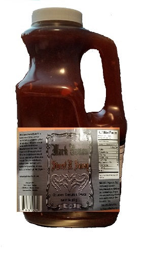 Half Gallon Jug Mark James Sweet N Sassy Sauce - Mark James Creative