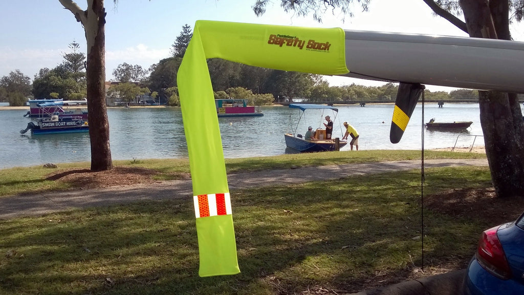 PaddleSmart Hi Vis Safety Sock