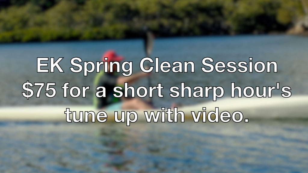 Spring Clean your Paddle Stroke