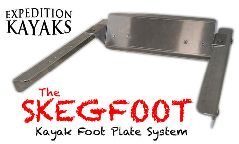 The SkegFoot Kayak Footplate System