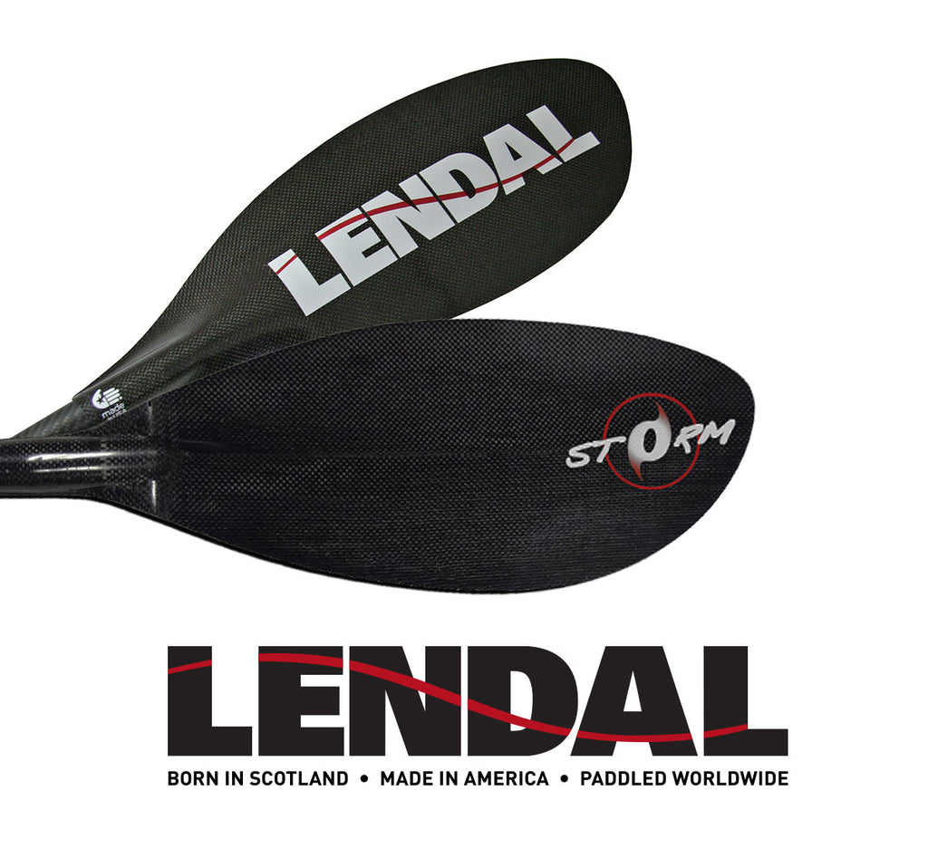 Lendal USA Storm Paddle (2 Piece with the new Lever Lock)