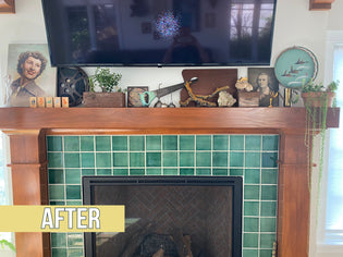 MANTLE MAKEOVER - From sooty to superb in a few easy steps!