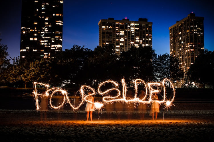 Celebrate Love   via Foursided with photos by Rodion Creative
