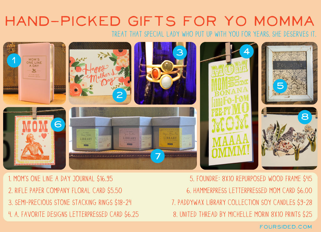 8 Handpicked Gifts for Yo Momma