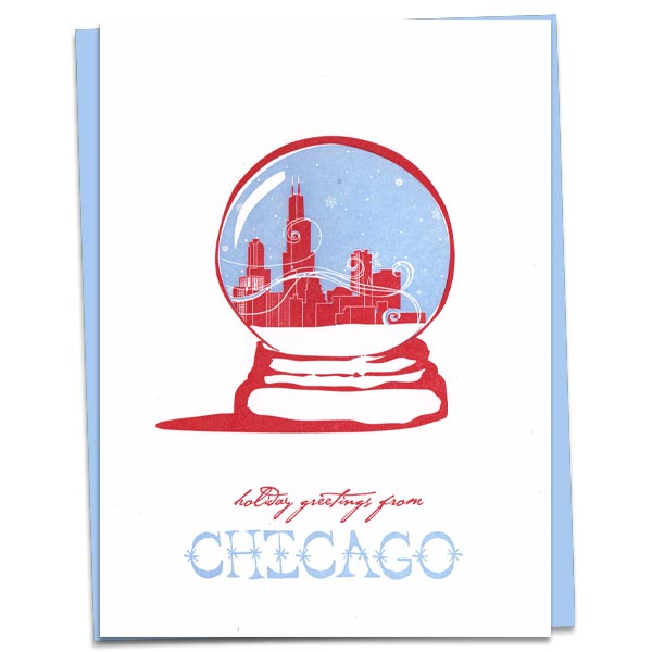 Chicago Snowglobe