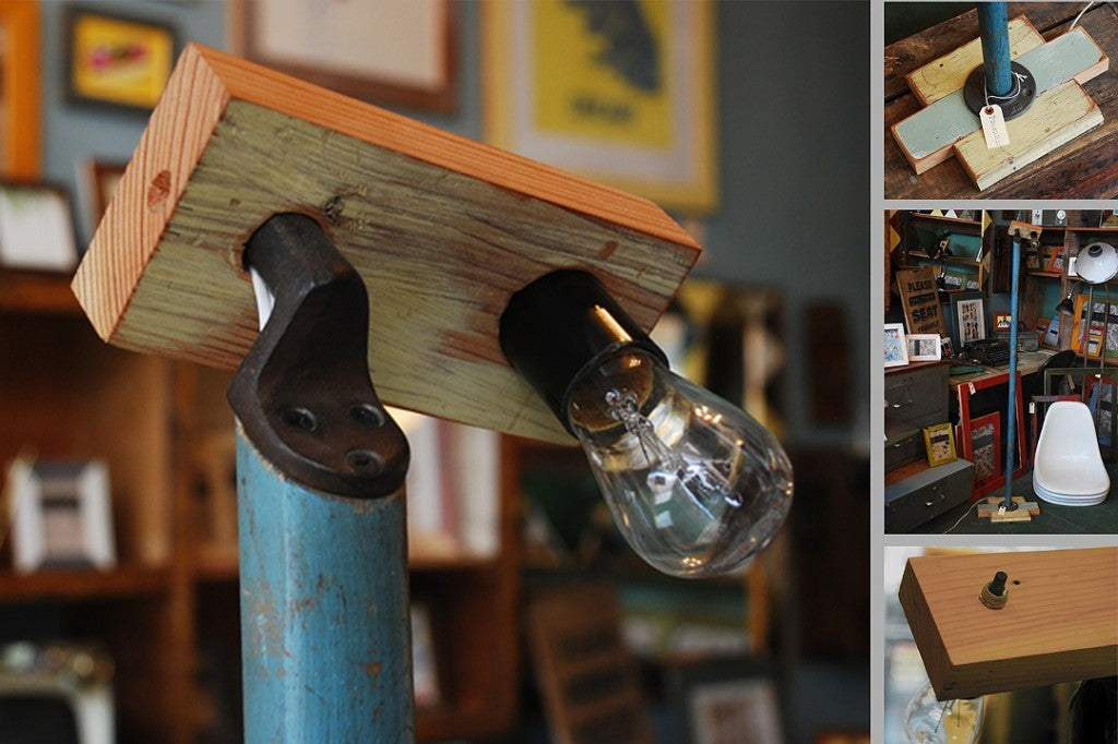 Stilt Lamp from FoundRe