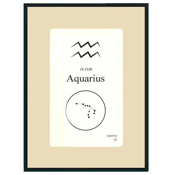Custom Zodiac Flashcard