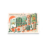 North Pole Postcards (10) Rifle Paper Co. - Foursided