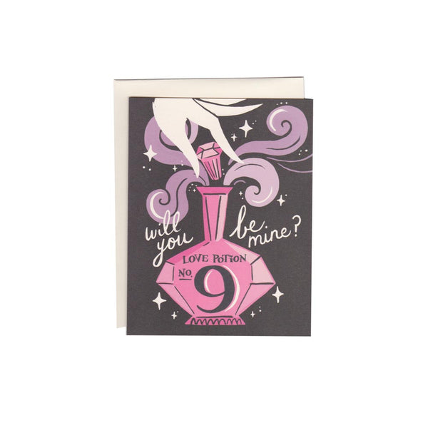 Love Potion No. 9 Card - Foursided - Idlewild Co.