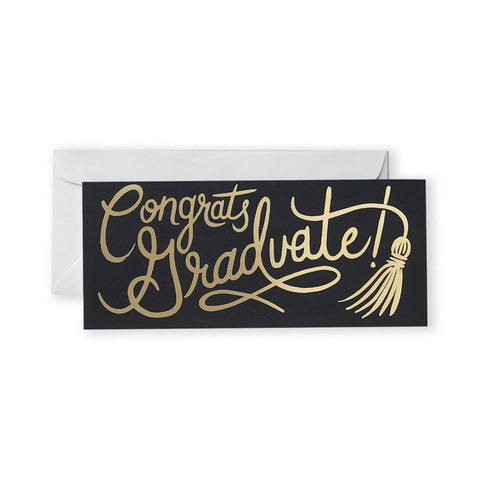 Graduation Tassel Card