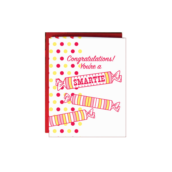 You're A Smartie Card A. Favorite - Foursided
