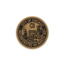 Chicago City Seal Coaster Transit Tees - Foursided