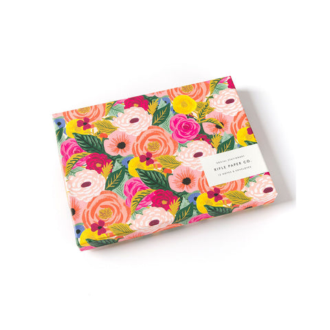 Juliet Rose Stationery Set (12)