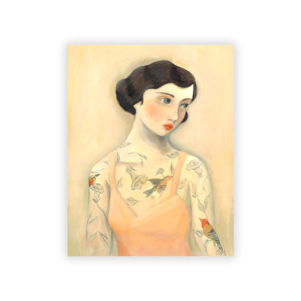 Tattooed Lady Print