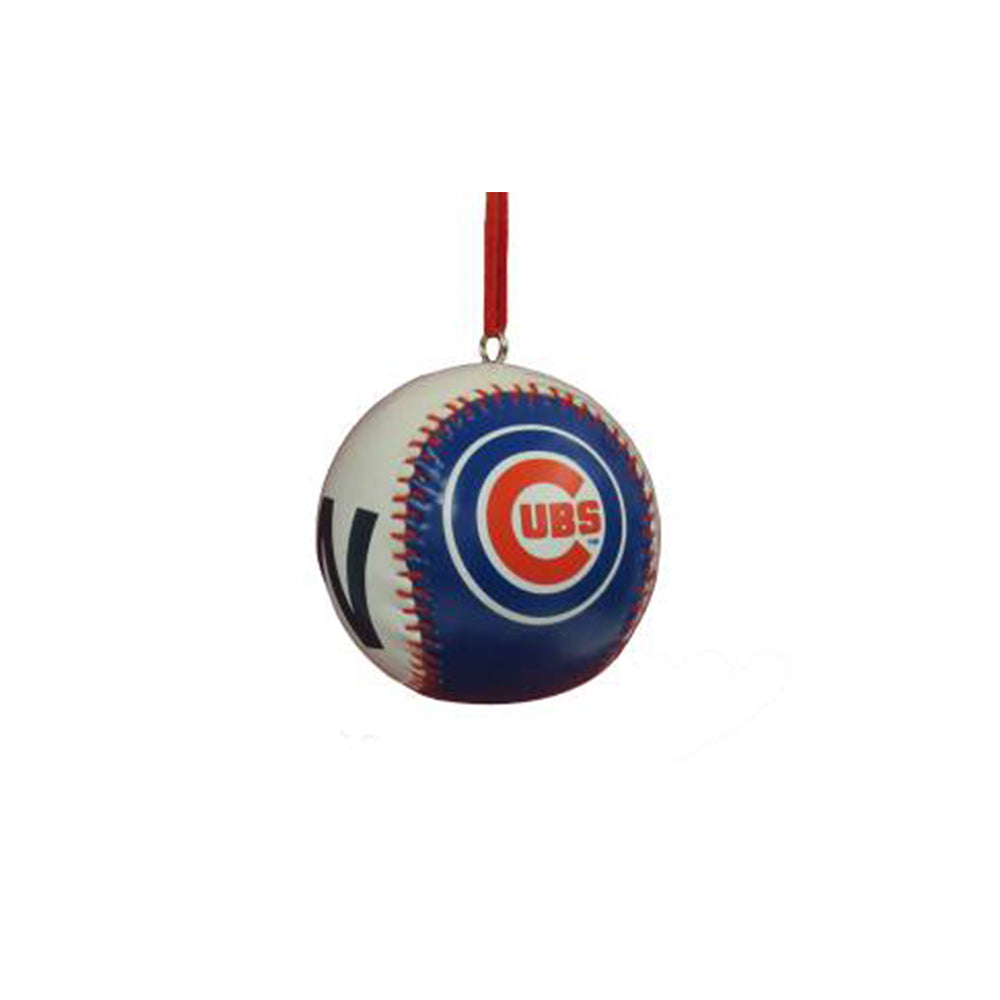 Chicago Cubs Baseball Ornament Kurt S. Adler - Foursided