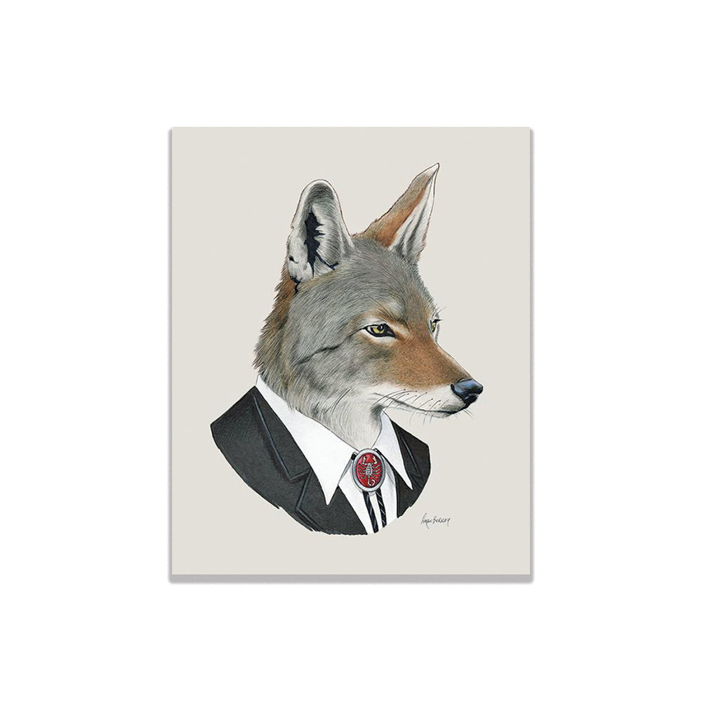 Coyote Man Print Buy Olympia - Foursided