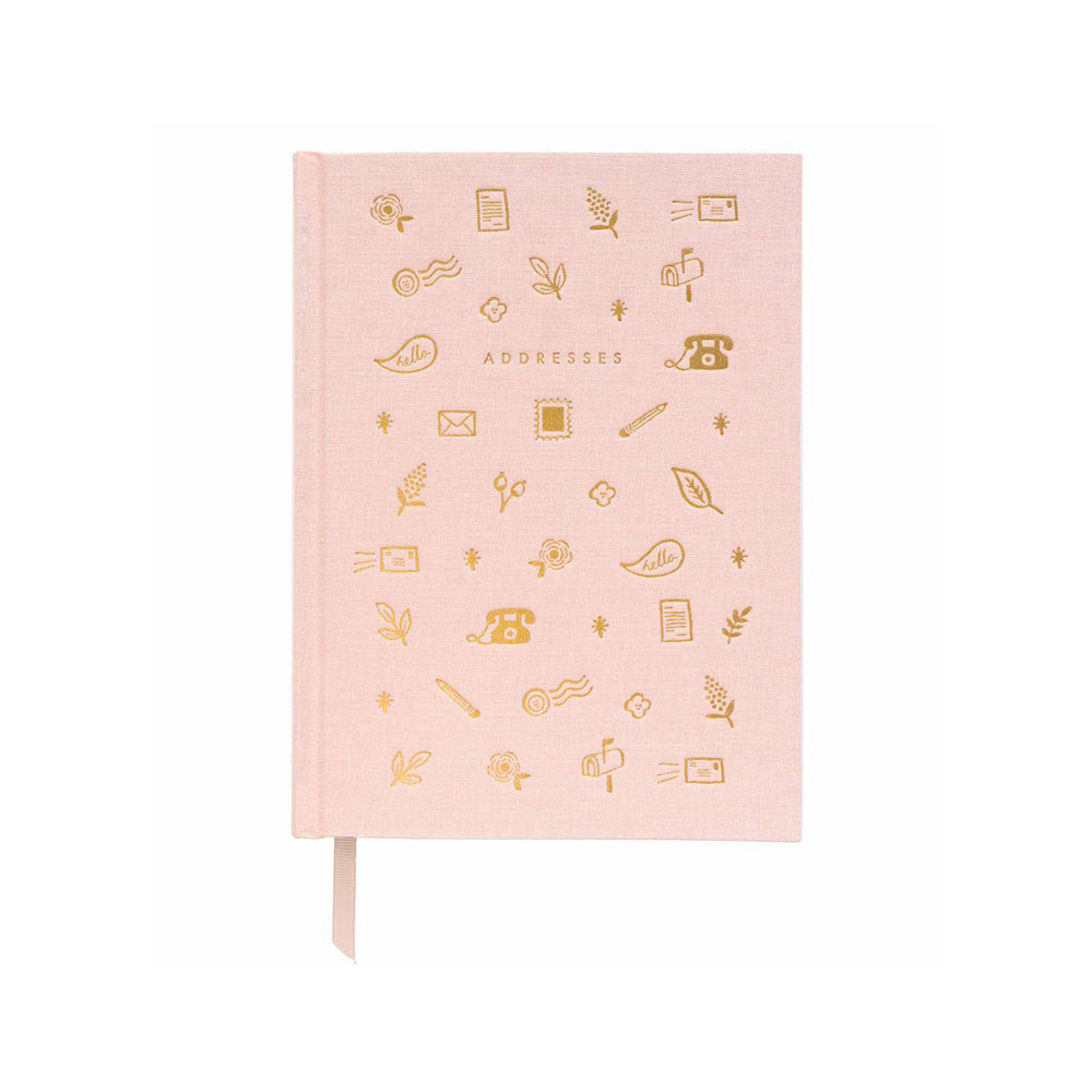 Blush Address Book Rifle Paper Co. - Foursided