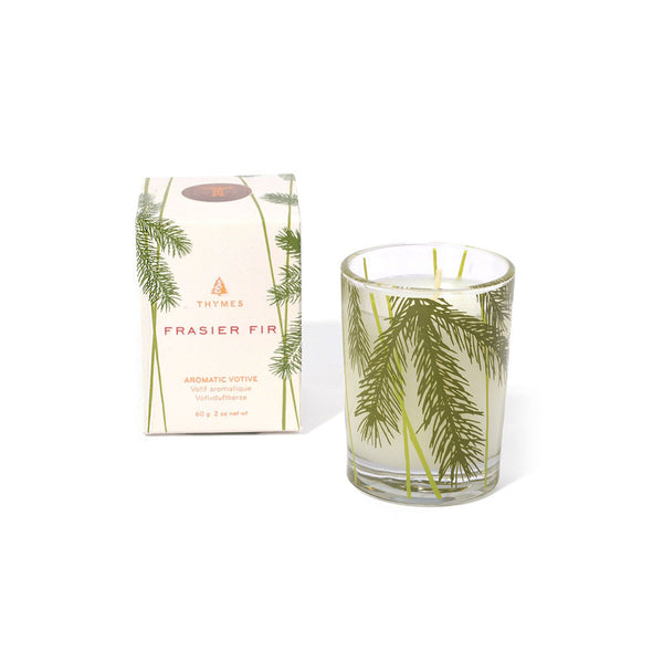 Frasier Fir Votive Thymes - Foursided