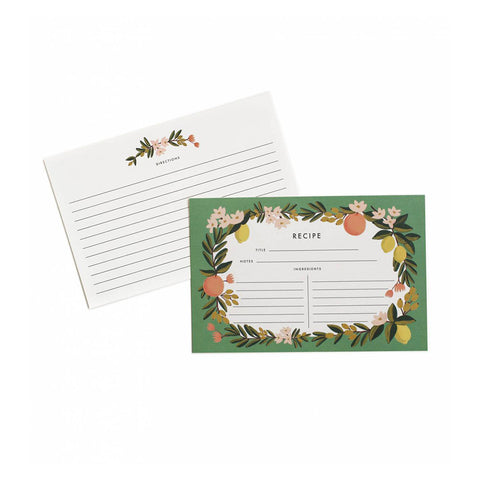 Recipe Cards (multiple patterns)