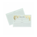 Recipe Cards (multiple patterns) Rifle Paper Co. - Foursided
