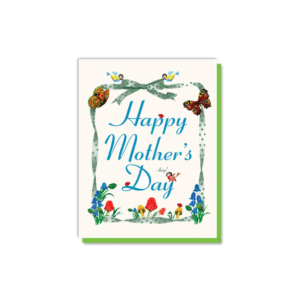 Mother's Day Flora and Fauna Card