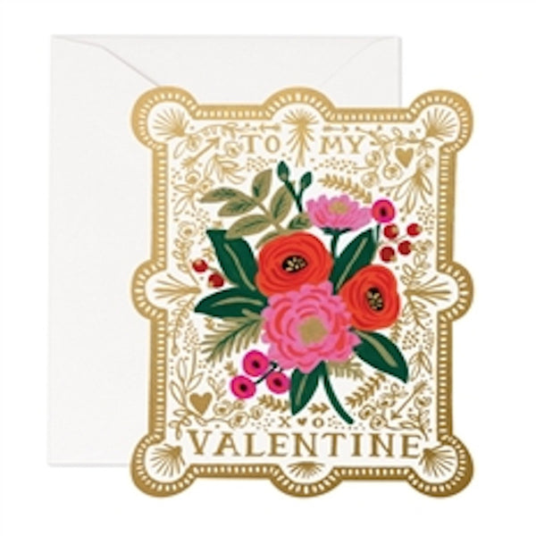 Vintage Valentine Rifle Paper Co. - Foursided