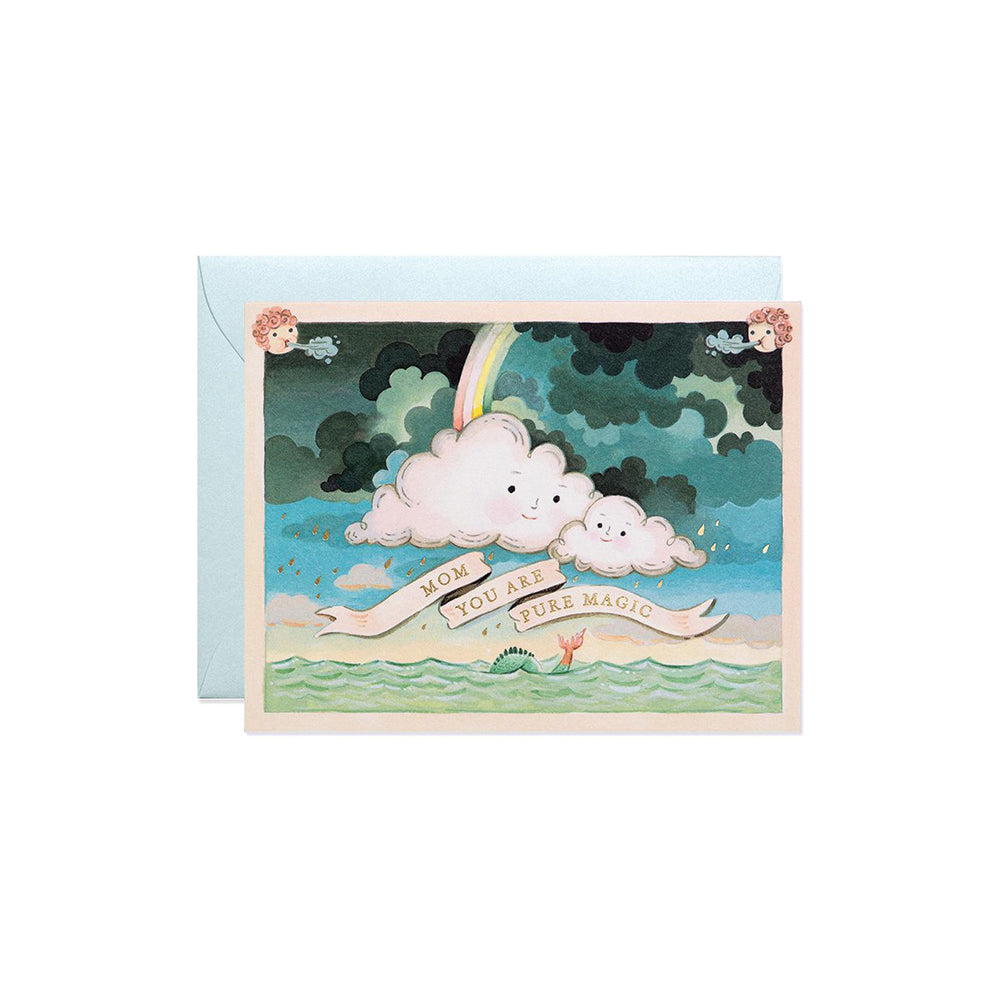 Mother's Day Clouds Card
