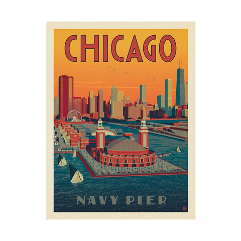 Chicago Navy Pier Print