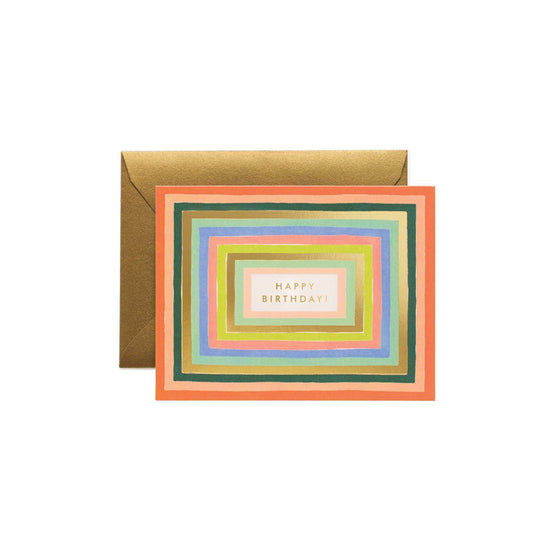Disco Birthday Card Rifle Paper Co. - Foursided