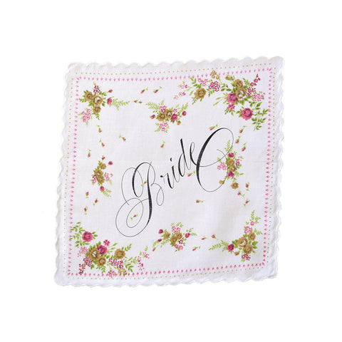Wedding Handkerchief (multiple styles)