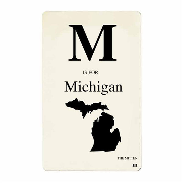 Custom State Flashcard Foursided - Foursided