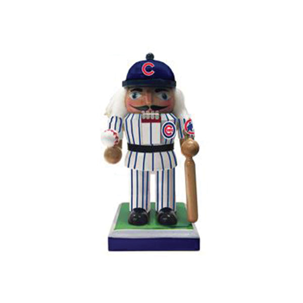 Chicago Cubs Nutcracker Kurt S. Adler - Foursided