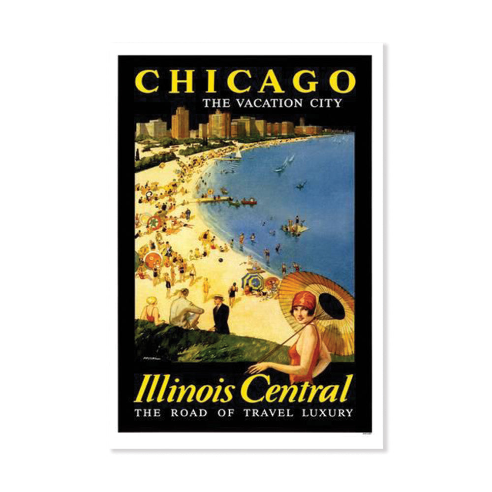 Chicago: The Vacation City Print Popcorn Movie Poster Co. - Foursided