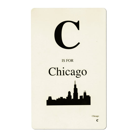 Chicago Flashcard Foursided - Foursided