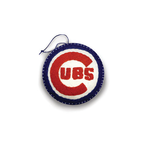 Chicago Cubs Plush Ornament