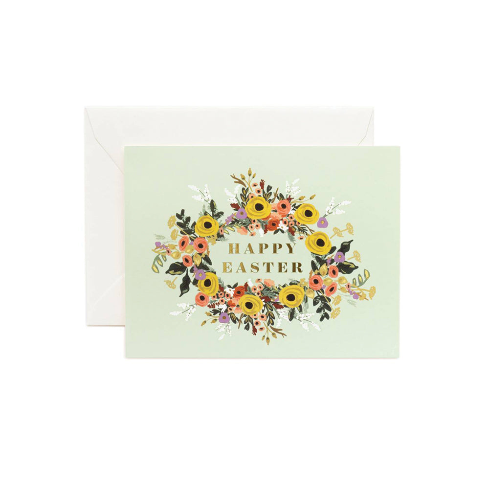 Easter Garden Card Rifle Paper Co. - Foursided
