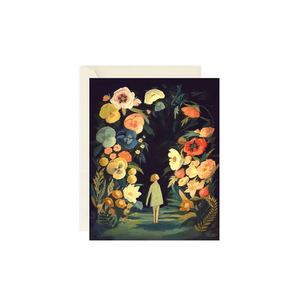 Night Garden Card Buy Olympia - Foursided