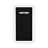 "White & Black ""Tickets"" Ticket Box Foursided - Foursided"